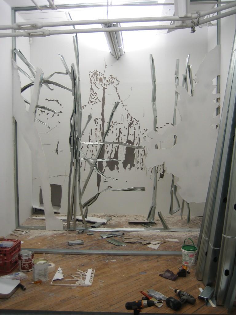 stdio Brooklyn, 3rd wall - moving again